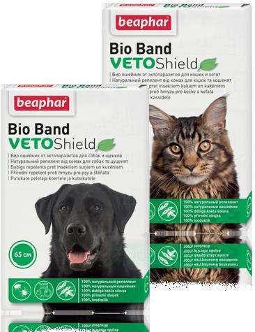 Antiparzitní obojek Beaphar Bio band