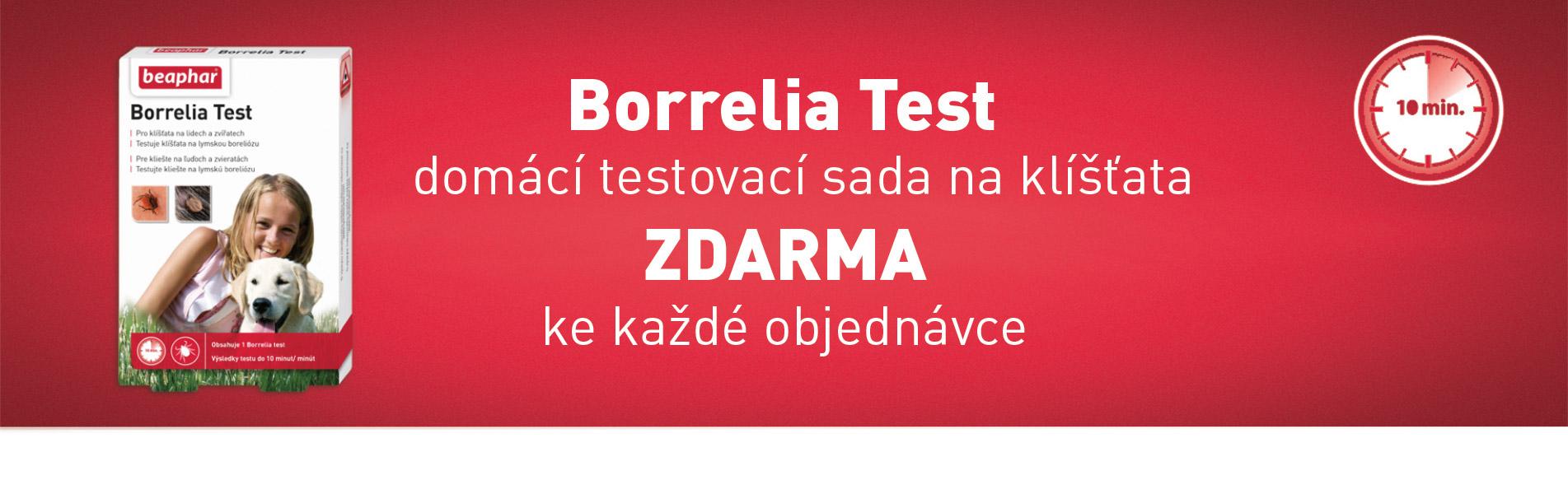 BORRELIA TEST ZDARMA